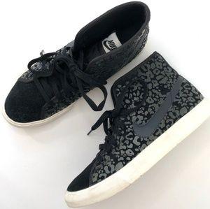 Nike Women's Primo Court Mid Leopard US 7.5
